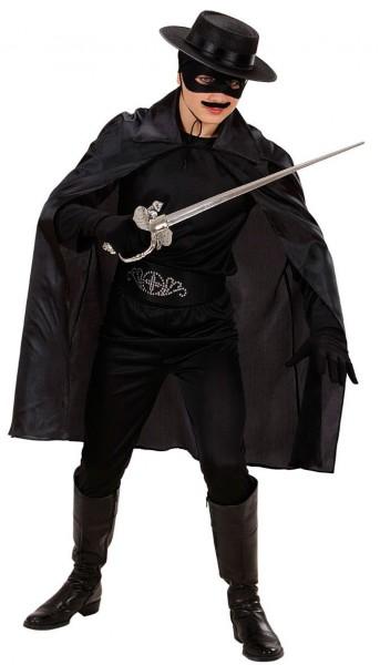 Classic black cape 100cm