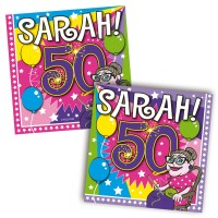 20 Sarah Party Servietten 25cm