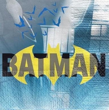 16 Batman Hero Servietten 25cm
