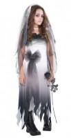 Unheimliche Totenbraut Kostüm für Mädchen