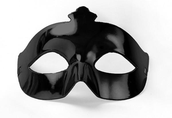 Maschera per feste Mystic Metallic Black