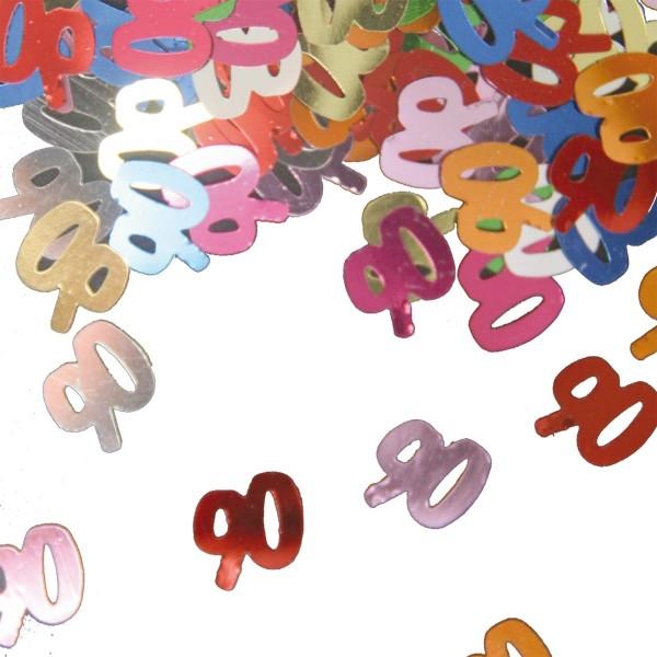 Confetti 90th birthday