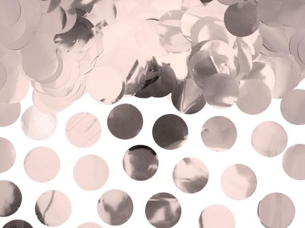 Confettis métalliques or rose 15g