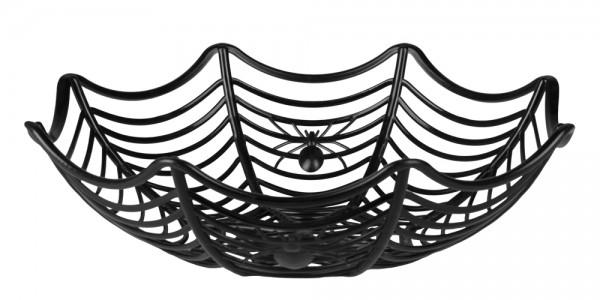 Spinnen Obstschüssel schwarz 27cm