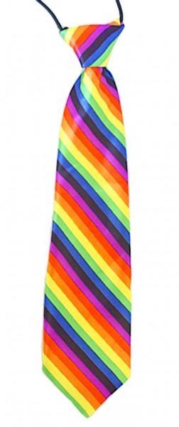 Regenbogen Krawatte