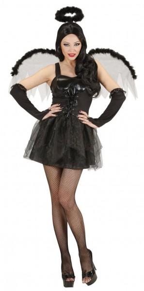 Schwarzes Höllenengels Kostüm