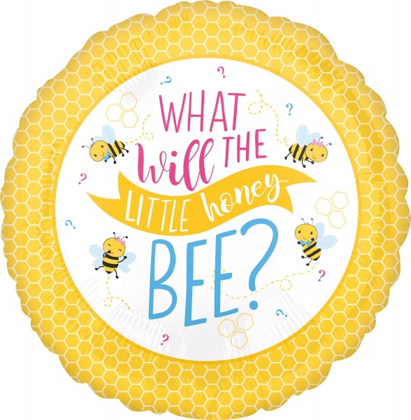 Baby Bienen Folienballon Honey