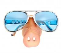 Fliegerbrille Mit Schweinenase