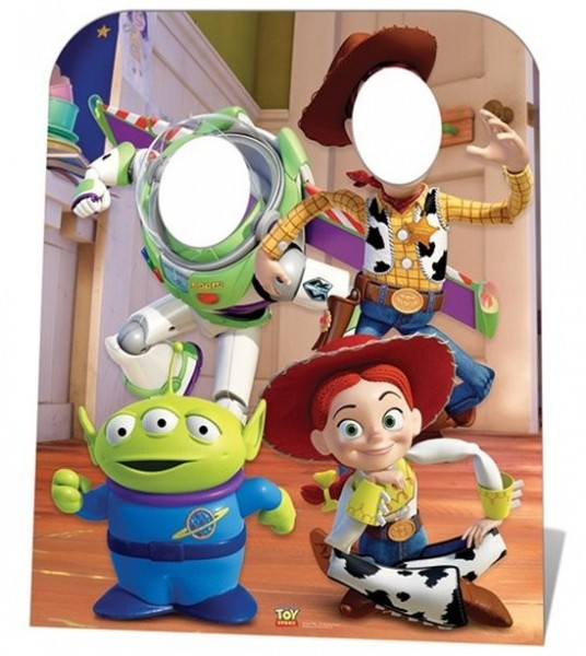 Toy Story Photo Wall Stand 1.27m