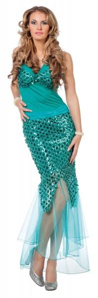 Meerjungfrauen Damenkostüm Maribelle