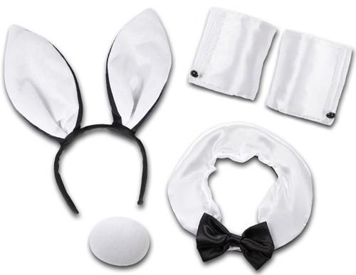 Sexy Bunny Set Weiß