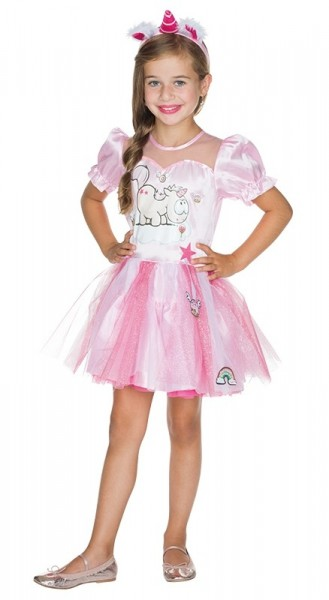 Deluxe Einhorn Luna Kleid Für Kinder
