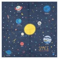 Vorschau: 20 Weltall Party Space Servietten 33cm