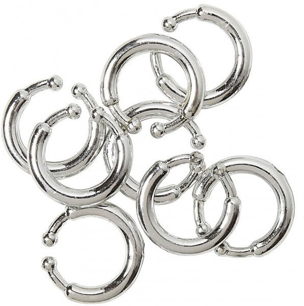 Piercing clip set 8 pieces