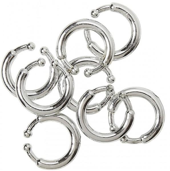 Clip piercing set 8 piezas