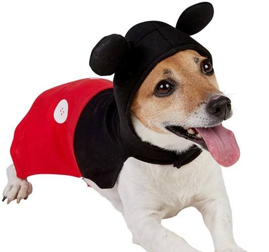 Mickey Maus Hundekostüm