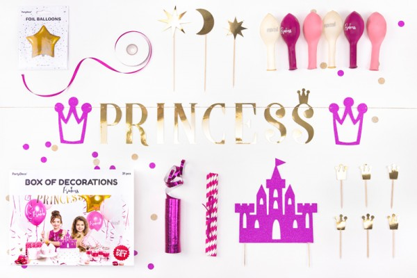Princess Tale Partykoffer 31-teilig