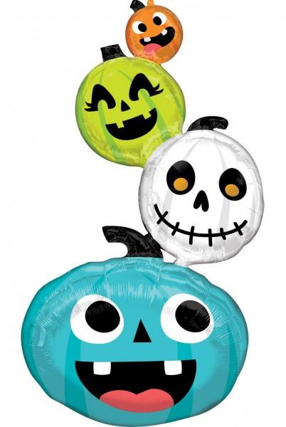 Globo foil Happy Halloween Family 152cm