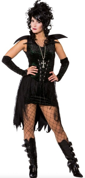 Costume da donna gotico Gisela