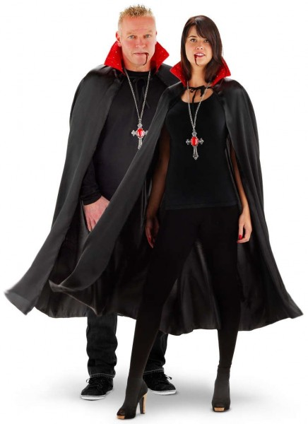 Glow effect cape for vampires