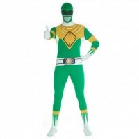 Ultimate Power Rangers Morphsuit grün