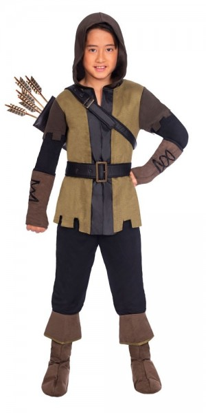 Prince of Thieves Archer Costume Children's