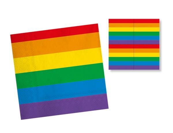 20 Pride Servietten 33cm