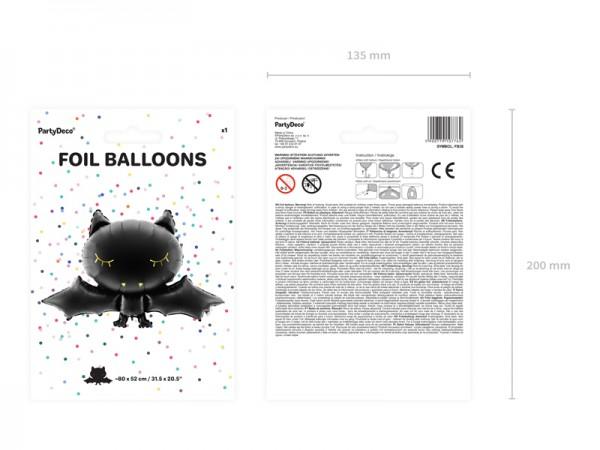 Boo Town Fledermaus Ballon 80 x 52cm 7