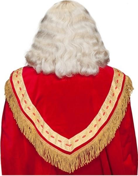 Peluca clásica de Papá Noel con barba y cejas