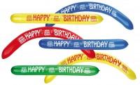 2 Happy Birthday Modellierballons