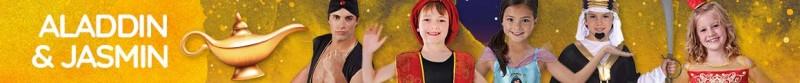 Aladdin & Jasmin Kostüme & Zubehör