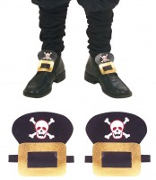 Totenkopf Piraten Schuhschnalle