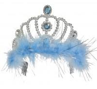 Silbrig-Eisblaues Prinzessinnen Diadem Für Kinder