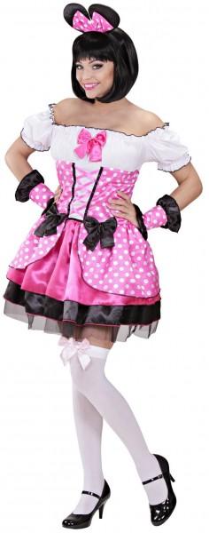 Merry Maus Lady Kostüm In Pink