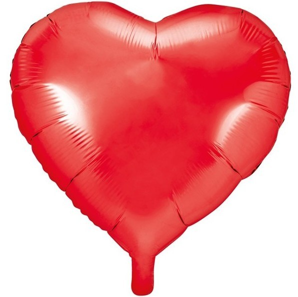 Herzilein foil balloon red 61cm