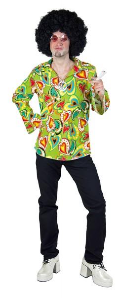Chemise homme hippie heureux