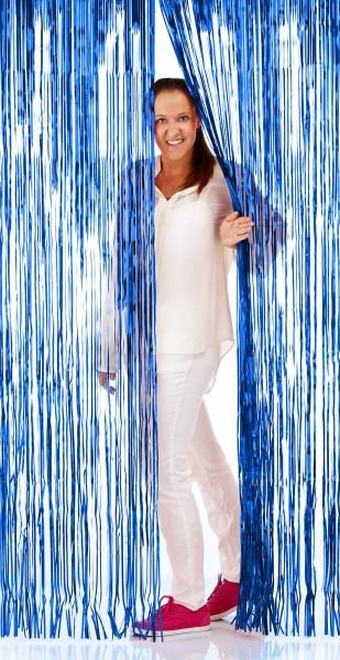Türlamette blaue Folie 2m
