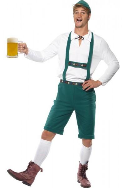 Oktoberfest Seppl Tracht Grün