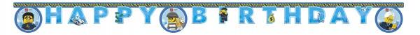 Lego City FSC Girlande 2m