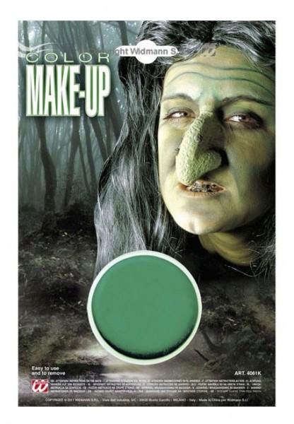 Gekleurde make-up in groen