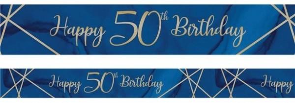 Luksusowy baner na 50. urodziny 2,74 m