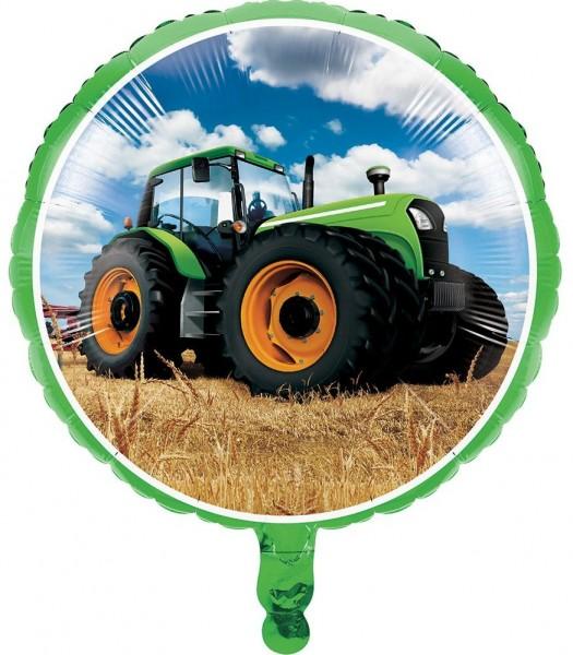 Ballon Feuille Tractor Party 46cm
