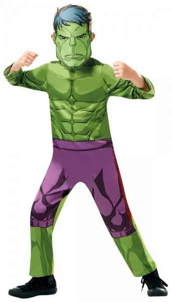 Avengers Assemble Hulk Classic Kostüm für Kinder