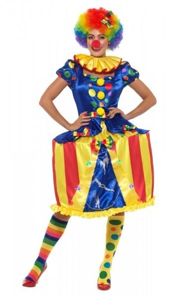 LED Zirkus Manege Clown Damenkostüm