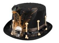 Totenkopf Gruselhut Voodoo