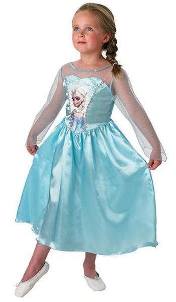 Blaues Elsa Classic Kleid