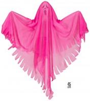 Neonfarbenes Gespenst Pink 45cm