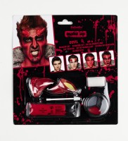 Halloween Teufels Make-Up-Set