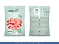 100 Eco Pastell Ballons babyrosa 30cm
