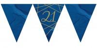 Luxurious 21st Birthday Wimpelkette 3,7m